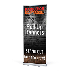 300×300 Roll Up Banner